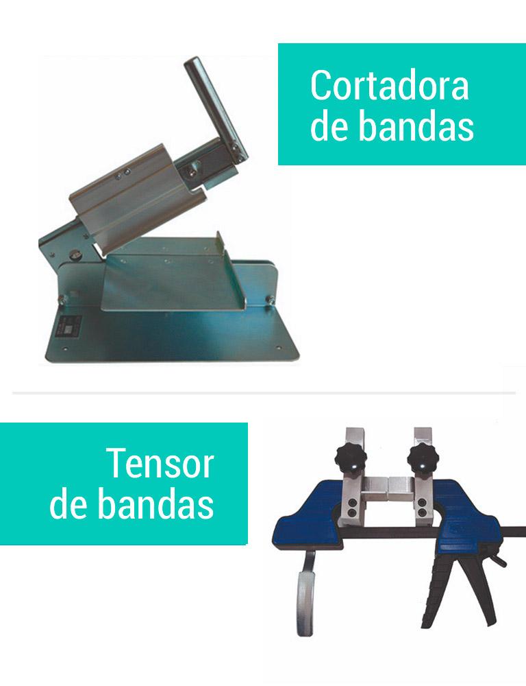 cortadora tensor de bandas
